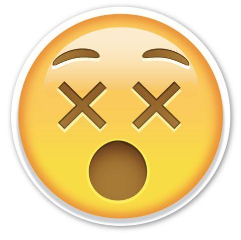 Dizzy Face   EmojiStickers.com