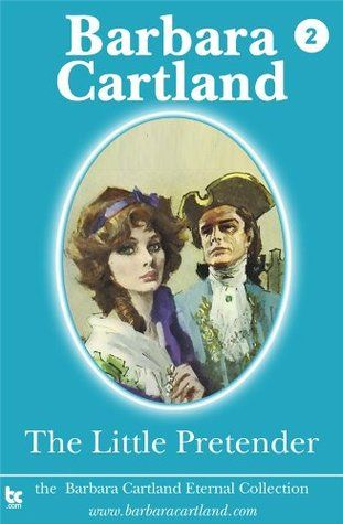 The Little Pretender - Barbara Cartland (full cover of the pic, not the oval)