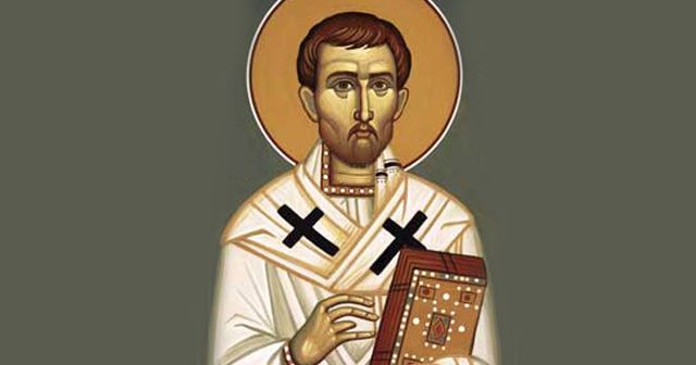 Saint Titus, a disciple of St. Paul the Apostle, for whom he was secretary. According to tradition he was the first bishop of Crete.