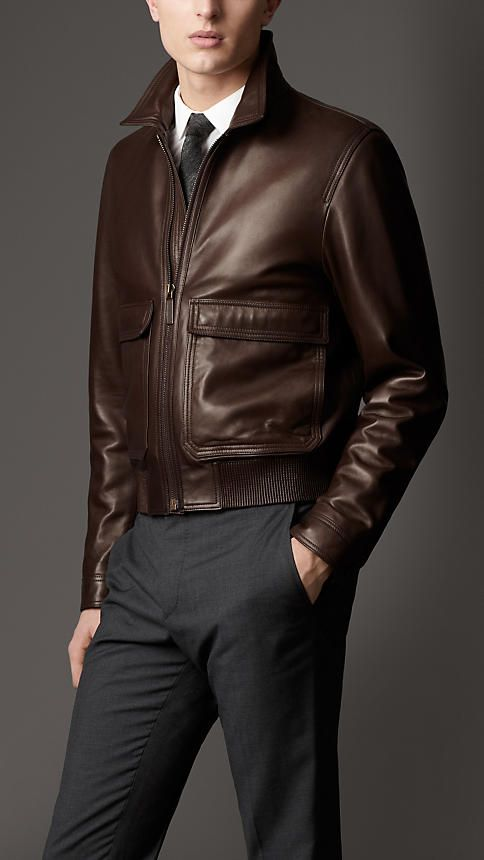 Burberry Leather Jackets