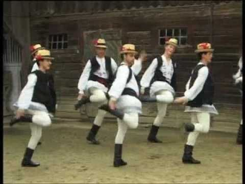 Romanian Traditional Dance - Transylvania - Purtata batrina
