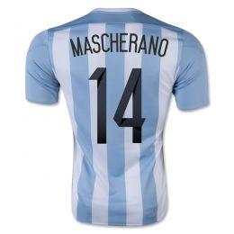 2015 Argentina Soccer Team Home Mascherano #14 Replica Jersey 2015 Argentina Soccer Team Home Mascherano #14 Soccer jerseys|cheap Agentina football jerseys sale