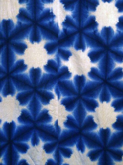 Japanese Shibori fabric
