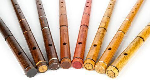 321 - African Olive keyless D Pratten w/silver – Windward Flutes