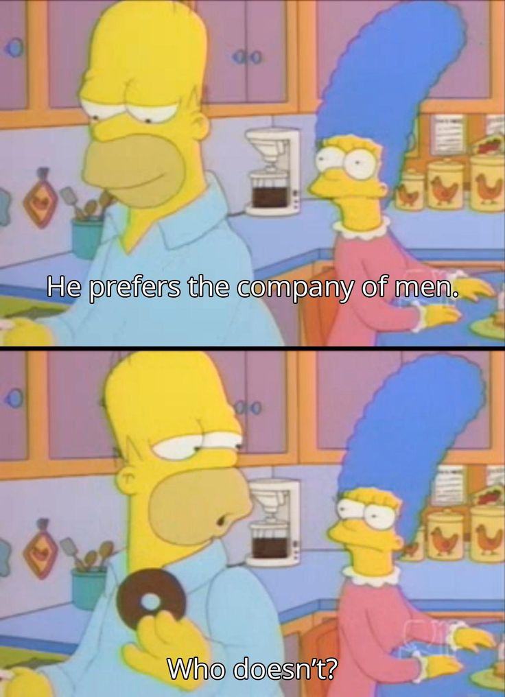 Great answer from Homer Simpson - Imgur