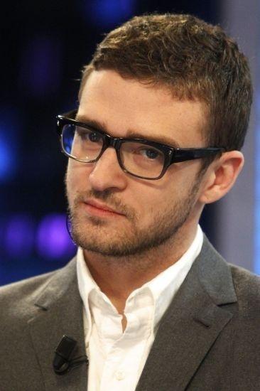Justin Timberlake: Celebrity Glasses, Pools Noodles, Toilets Paper Rolls, Justin Timberlake, Celebrity Eye Glasses, Black Frames, Black White, Weights Loss, Geek Chic