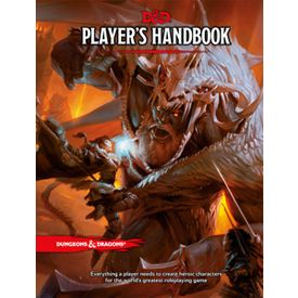 DUNGEONS AND DRAGONS 5th edition Player's Handbook