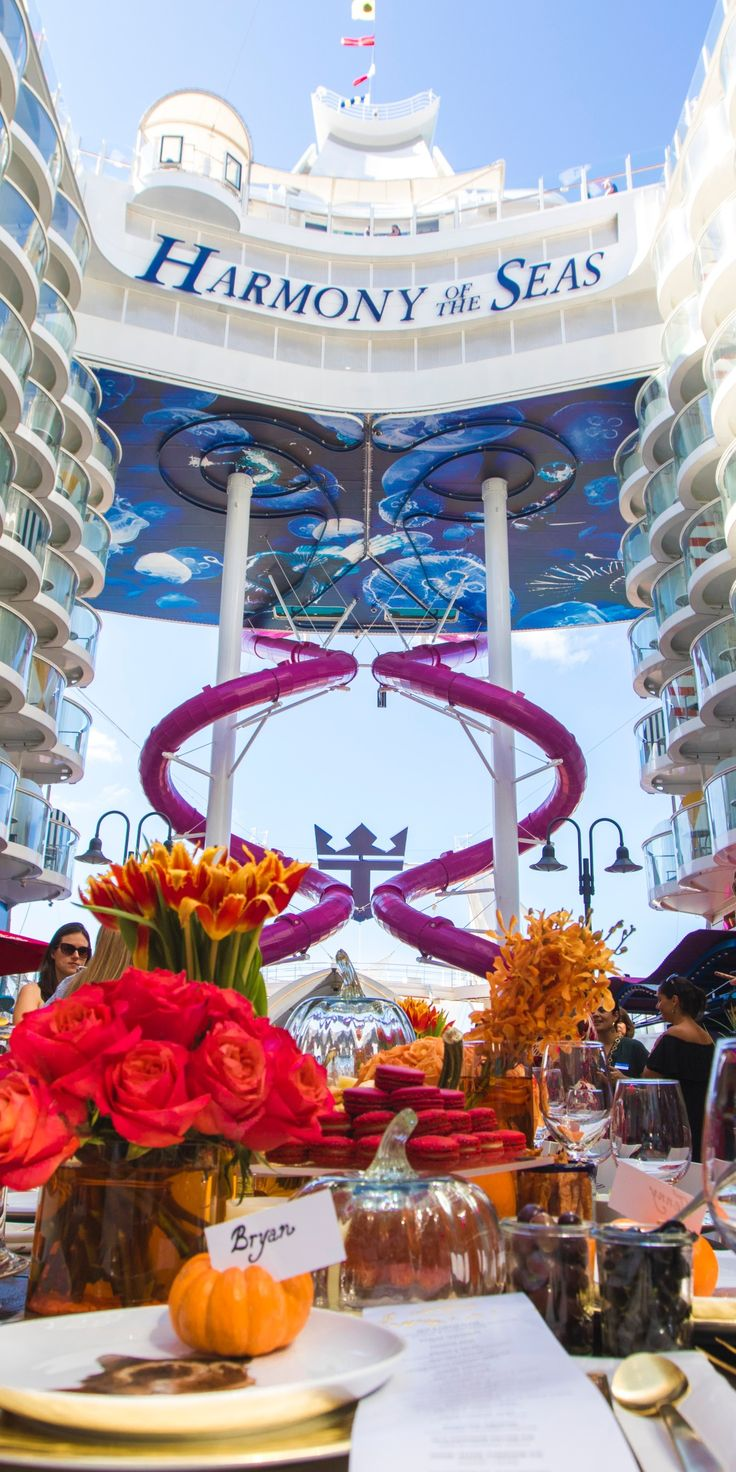 Royal caribbean diamond jubilee party a success cruise international - Find This Pin And More On Royal Caribbean International By Markw2260