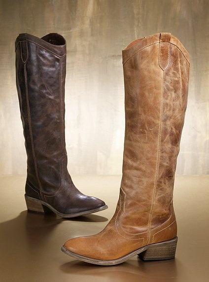 Vintage Dames cowboylaarzen
