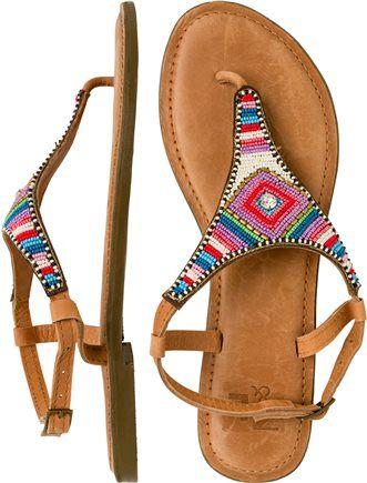 Beaded sandal. http://www.swell.com/Womens-Footwear-New-Products/MUMBAI-BEADED-SANDAL?cs=MU