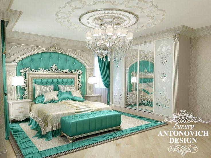 Изумрудная спальня: