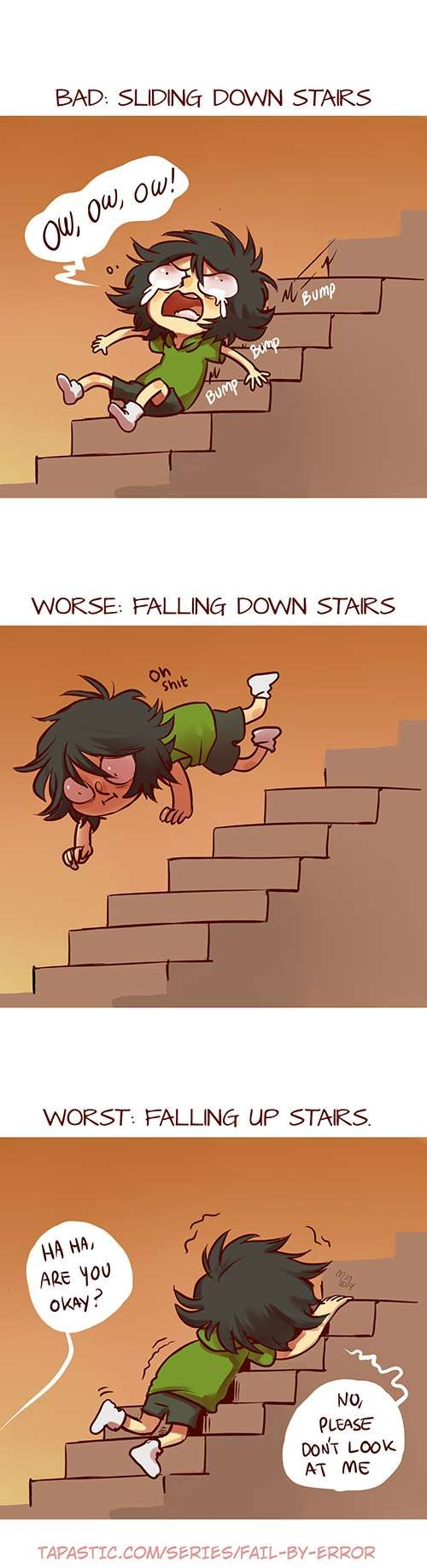 Fail by Error :: Stairs | Tapastic - image 1