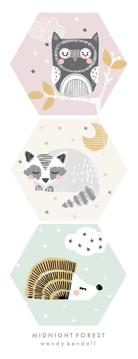 wendy kendall designs – freelance surface pattern designer » midnightforest_doc