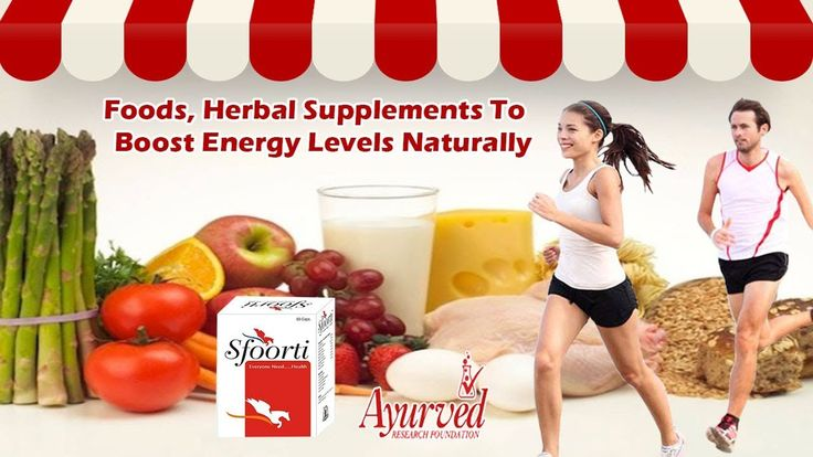 Foods, Herbal Supplements to Boost Energy Levels Naturally