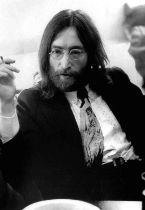 Lennon. ♥---One of the Beatles, great songwriter, gone to soon.