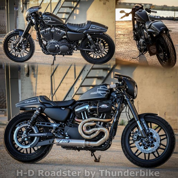 New Harley-Davidson Roadster project. More photos & infos about the parts under:http://www.thunderbike.de/galleries/tb_galleries/tbrr1_roadracer.php