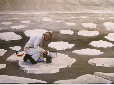 Making the set of Man on Ice