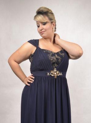 Vestido Plus Size para Casamento