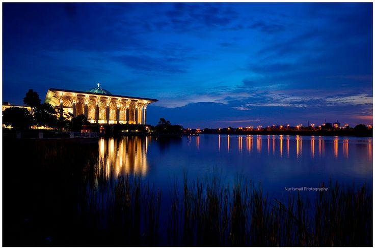 Tuanku Mizan Mosque in Putrajaya, MALAYSIA by Nur Ismail Mohammed on 500px