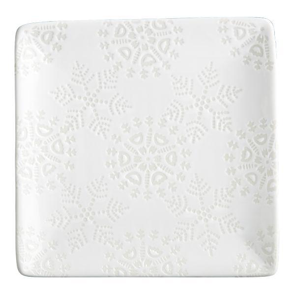 Love these little white snowflake plates - so versatile.  sc 1 st  Pinterest & 28 best christmas! images on Pinterest | Christmas decor Christmas ...