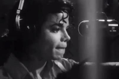 MJ in the studio