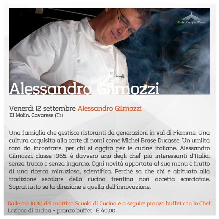 Alessandro Gilmozzi in Cafè Les Paillotes