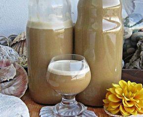 Připravte si doma chutný likér s příchutí cappuccina.