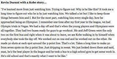 Kobe Bryant's Work Ethic  #basketball