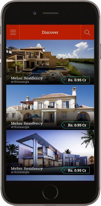 Real Estate iOS App Template - http://goo.gl/G8aKTf