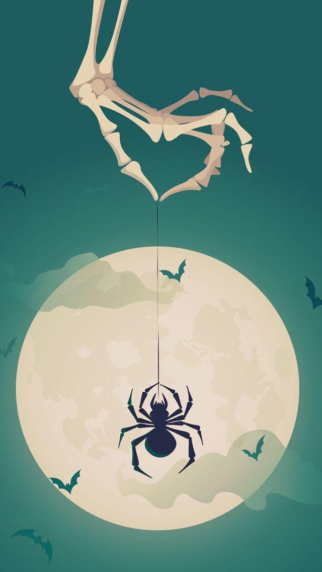 Halloween Theme Tricky #iPhone #5s #Wallpaper