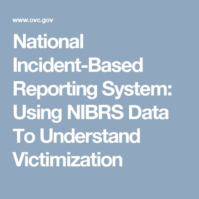a comparison between the uniform reporting system and the national incident based reporting system National fire incident reporting system (nfirs  to which they respond and to maintain records of these incidents in a uniform  web-based system admin.