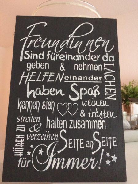 Hier verkaufe ich ein Holzschild in der Größe 20x30cm<br /><br />Die Schilder wurden von mir...,shabby chic Schild Vintage Muttertag Geschenk in Baden-Württemberg - Zell am Harmersbach