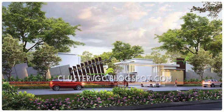 Gerbang cluster Yarra Jakarta Garden City #clusteryarra #clusterjgc