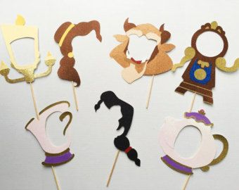 Méchants de Disney inspiré Photo Booth les par WCBCraftStudio