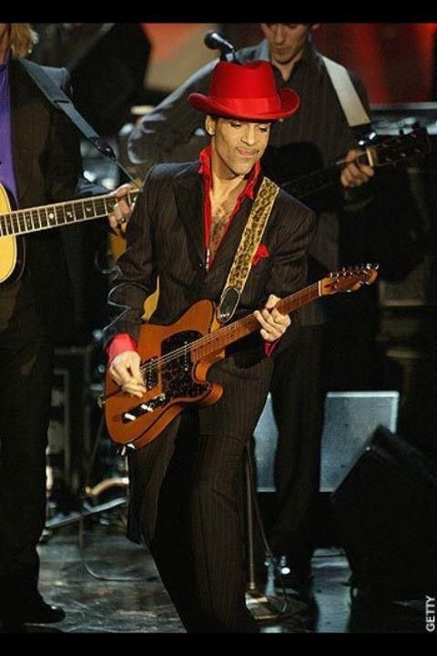 His guitar solo during the group performance in 2004's Rock N Roll Hall of Fame induction stole the show and brought the house down! YouTube it...
