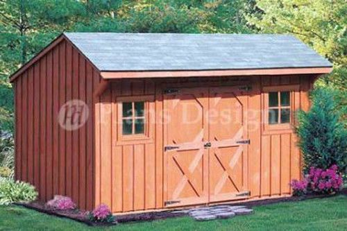 14 95 6 X 12 Classic Saltbox Style Storage Shed Plans Material List Included 70612 Ebay Home Garden Diy Shed Plans Shed Plans Small Shed Plans