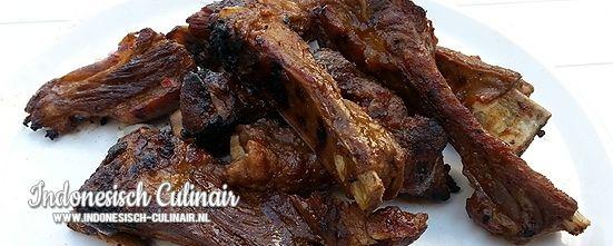 Iga Babi Bakar Dua | Indonesisch-Culinair.nl