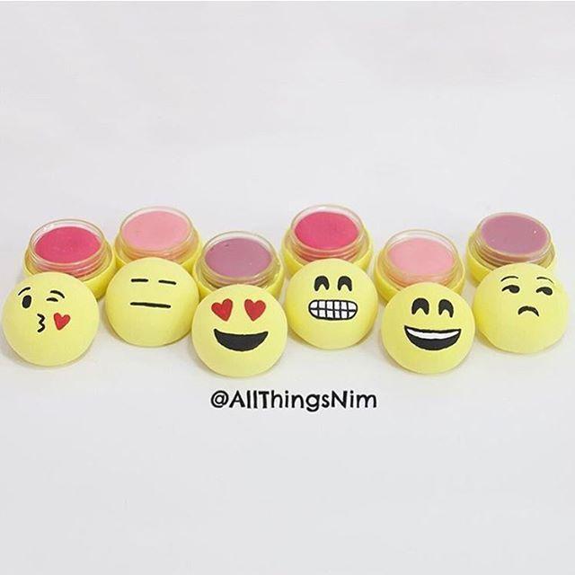 DIY Emoji Lip balm by @allthingsnim @allthingsnim