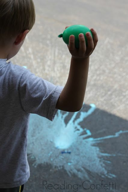 Chalk Bombs A Fun Twist On Ordinary Water Balloons And A
