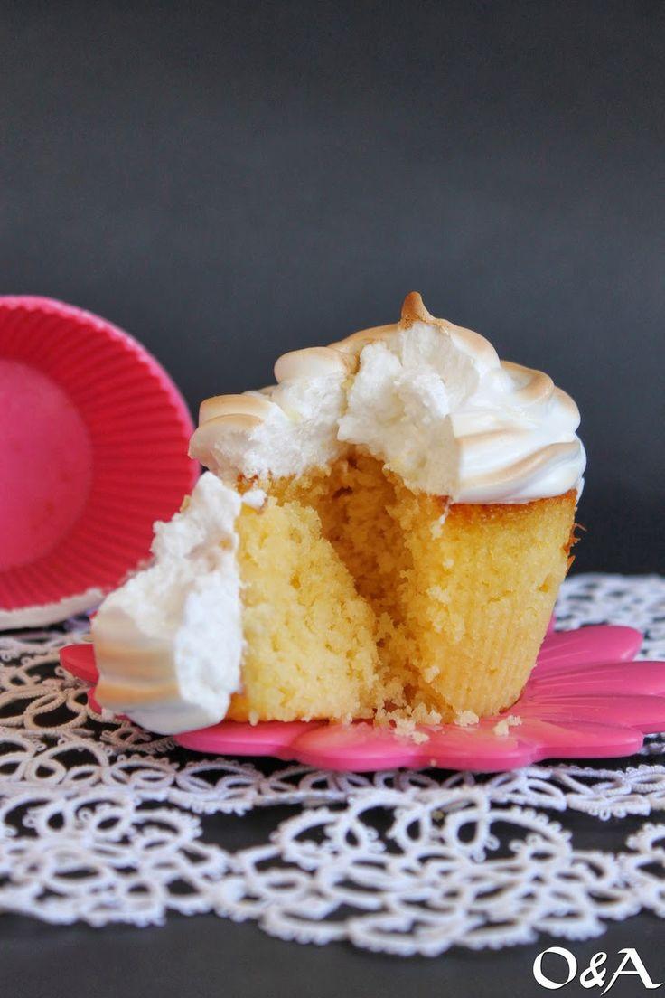 Olio e Aceto: Ricetta muffin al lemon curd e meringa
