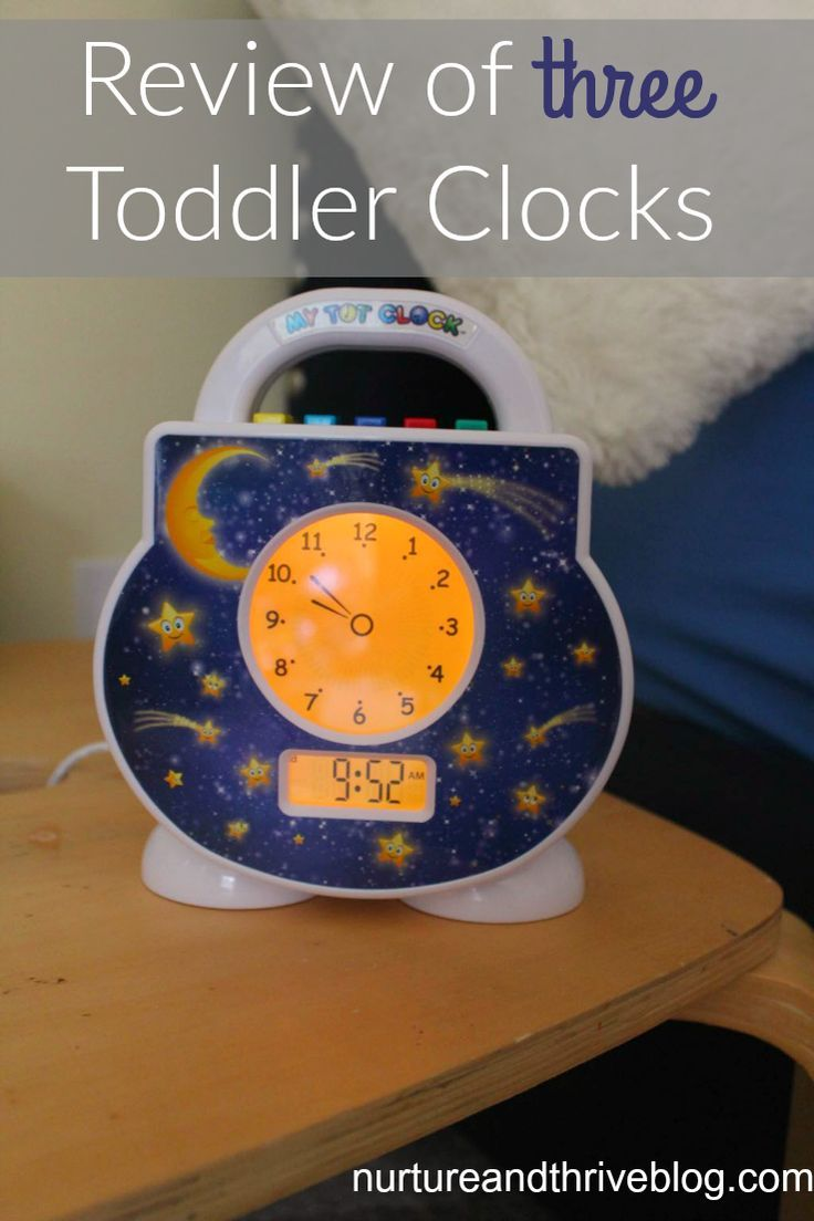 A review of three toddler alarm clocks