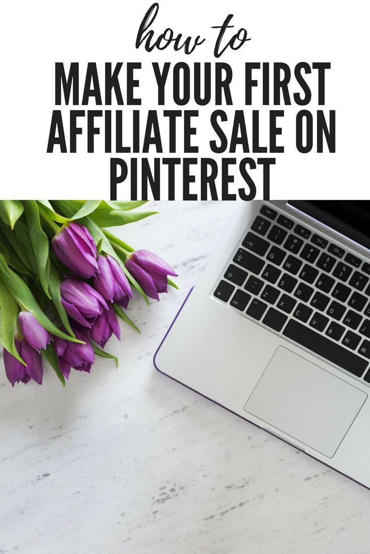 Find out how to get started and the plan that got me my first affiliate sale on Pinterest #blog #blogger #blogging #affiliate #pinteresttips #makemoneyonline