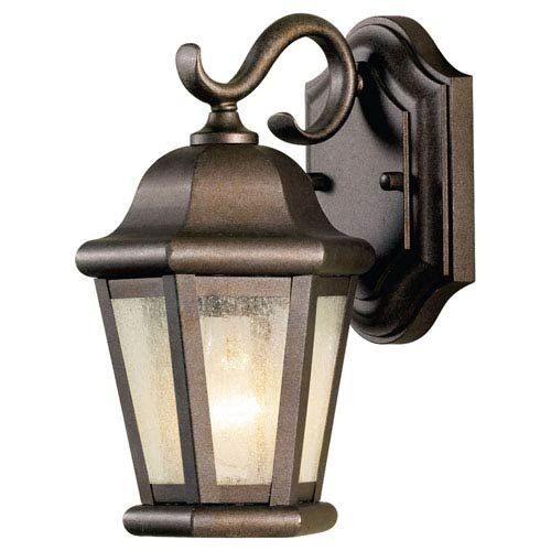 Martinsville Corinthian Bronze Outdoor Wall Lantern Light Feiss Wall Mounted