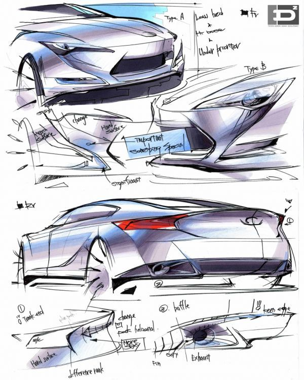 Designonwheels concept sketch