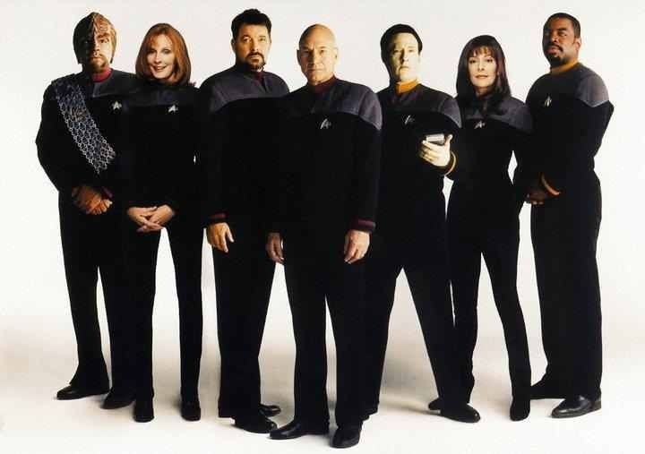 What your favorite Star Trek says about you...    Star Trek: The Next Generation (1987–1994)