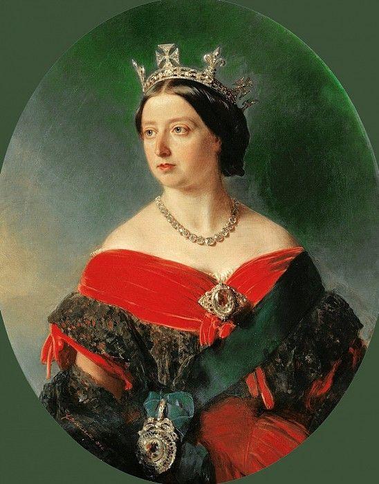 Королева Виктория (1819-1901). Франц Ксавьер Винтерхальтер