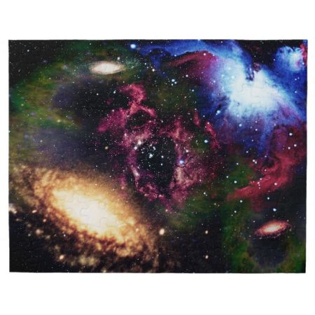 Galaxies and Nebulas of Outer Space Jigsaw Puzzles