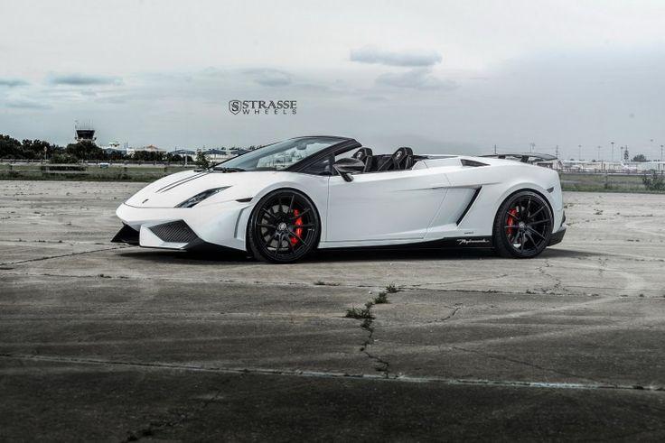 Lamborghini Gallardo Spyder Performante z kołami Strasse Wheels - XMOON.PL