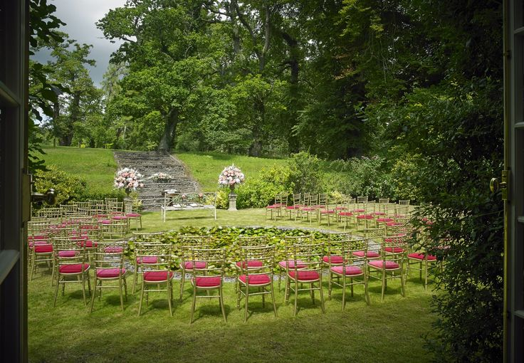 Outdoor Civil ceremony at Mount Juliet Estate, Kilkenny