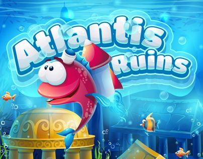 """Check out this @Behance project: """"Atlantis Ruins GUI"""" https://www.behance.net/gallery/38754805/Atlantis-Ruins-GUI"""